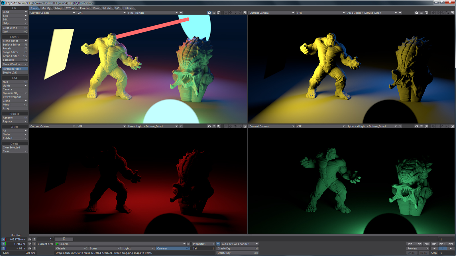 LightWave 2018, Award-Winning, Intuitive, Feature-Packed 3D Modeling